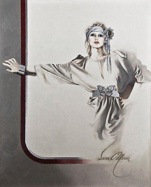 Sara Moon | Iranian Fashion painter
