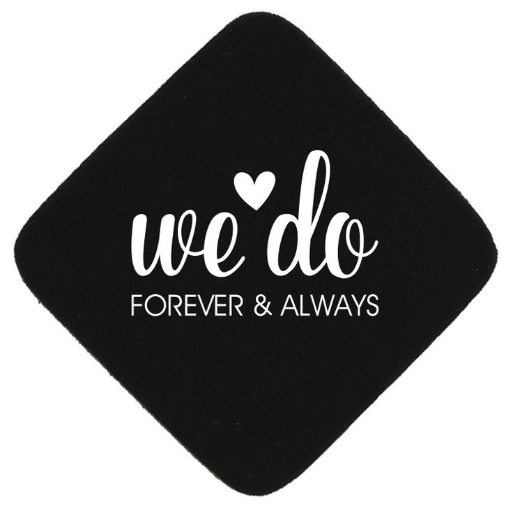 "TWCST301D - 4"" Square Foam Wedding Coaster with Diagonal Imprint #wedding #coaster #favor"