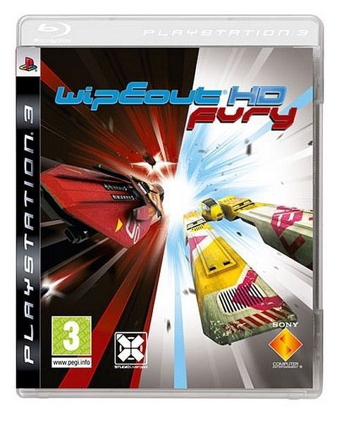 courses futuriste - Playstation 3 - Wipeout HD + Expension Wipeout HD FURY - ps3