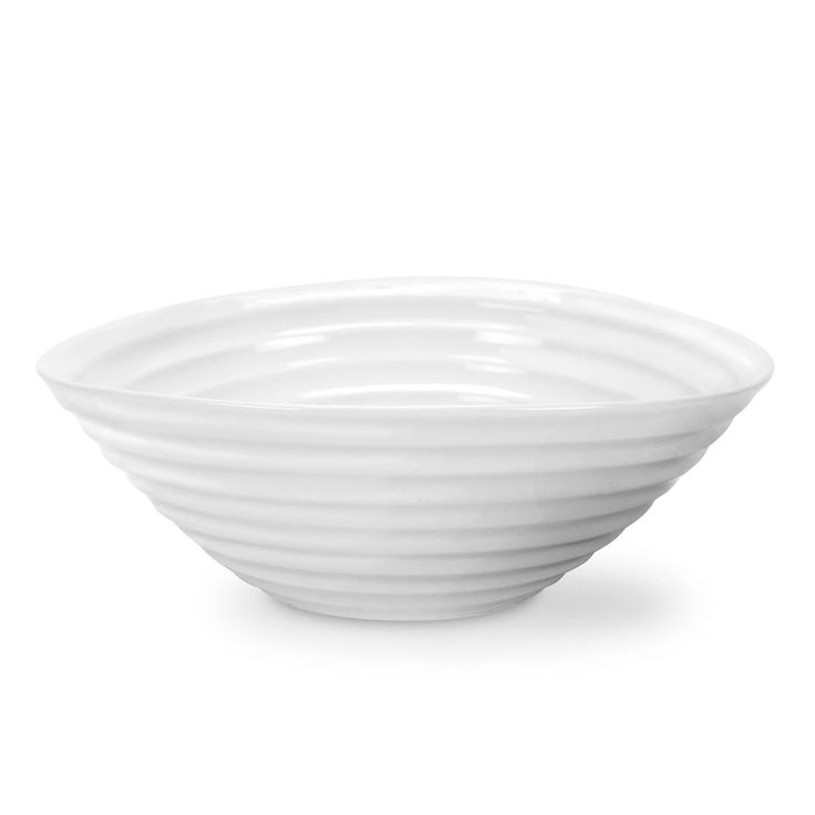 """Sophie Conran White Cereal Bowl. 19cm (7.5""""). Product Code: CPW76808. This White Cereal Bowl suits any occasion whether a relaxed bowl of cereal at breakfast or dessert at a dinner party.  Call 905·885·9250."""