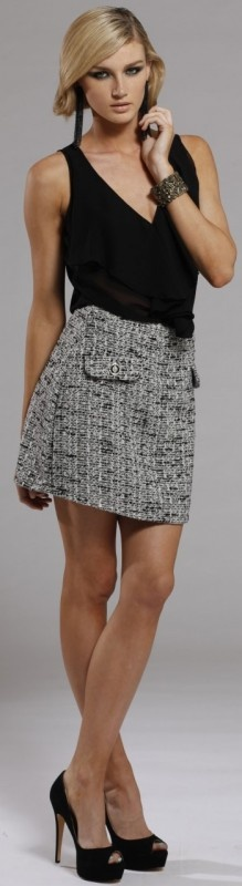 Lady Like Mini Skirt by Signature T at AlibiOnline, now: $99.95