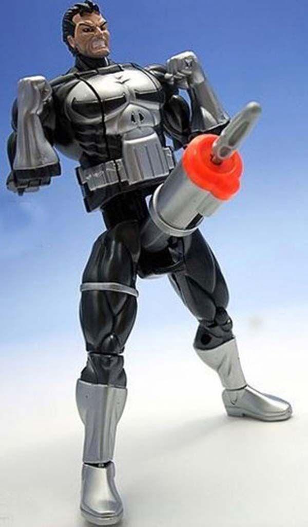 This knock-off Punisher seems strange...