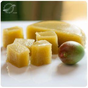 Jalea de mango verde