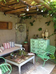 Fotografiando En Mi Patio Vintage Deco Marce Balkon Terrasse