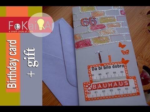 mini idea 137 | Handmade Birthday card + Halloween gift for the followers