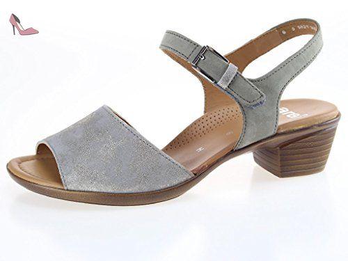 ara 37142-05, Sandales pour femme - argent - Silber,