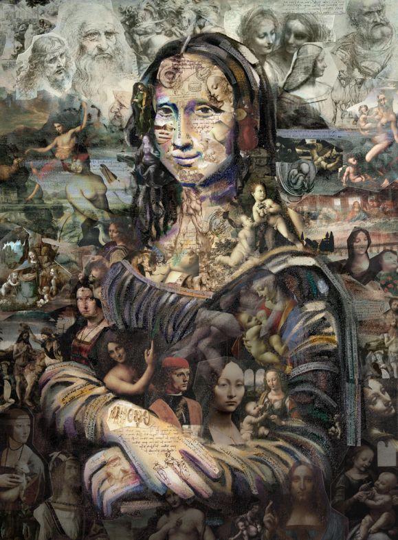 Da Vinci Initiative Oil Painting