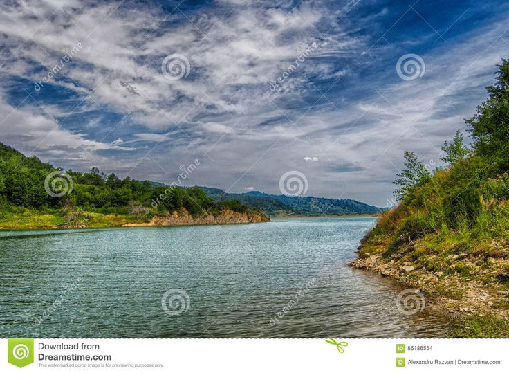 Blue Lake - Download From Over 56 Million High Quality Stock Photos, Images, Vectors. Sign up for FREE today. Image: 86186554