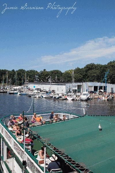 The Idler Riverboat restaurant in South Haven, Michigan!