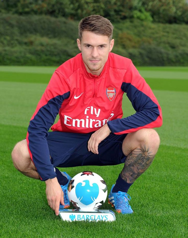 Ramsey Barclays Player of the Month September 2013.