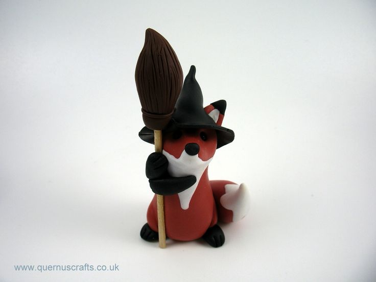 Little Witchy Broomstick Fox