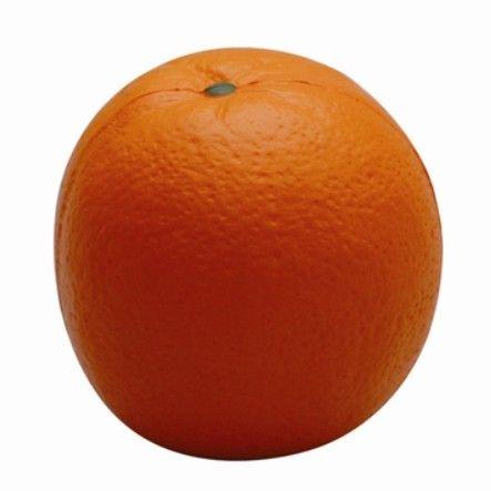 De-stress using this customisable squishy #orange stress toy.