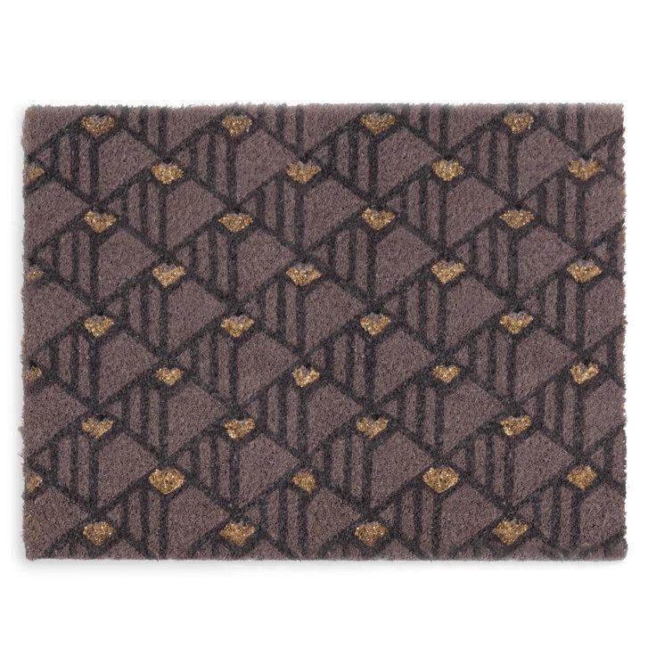 MODERN coir doormat 40 x 60 cm