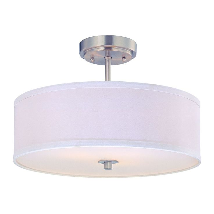 Conical 16 Drum Semi Flush Fixture In 2019: Office Images On Pinterest