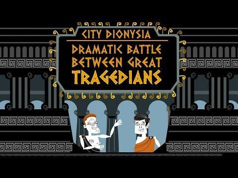 ▶ The battle of the Greek tragedies - Melanie Sirof -  YouTube TED ED