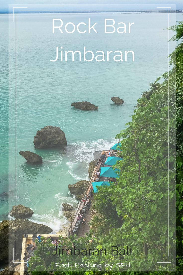 The Rock Bar Jimbaran Bali should be at the top of you must visit bar list. The views at sunset are what memories are made of and the cocktails are nibbles are delightful.