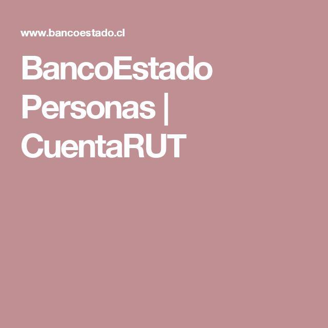 BancoEstado Personas | CuentaRUT