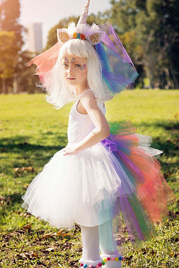 LOVE! So Cute! Unicorn Girls Tutu, HALLOWEEN Unicorn
