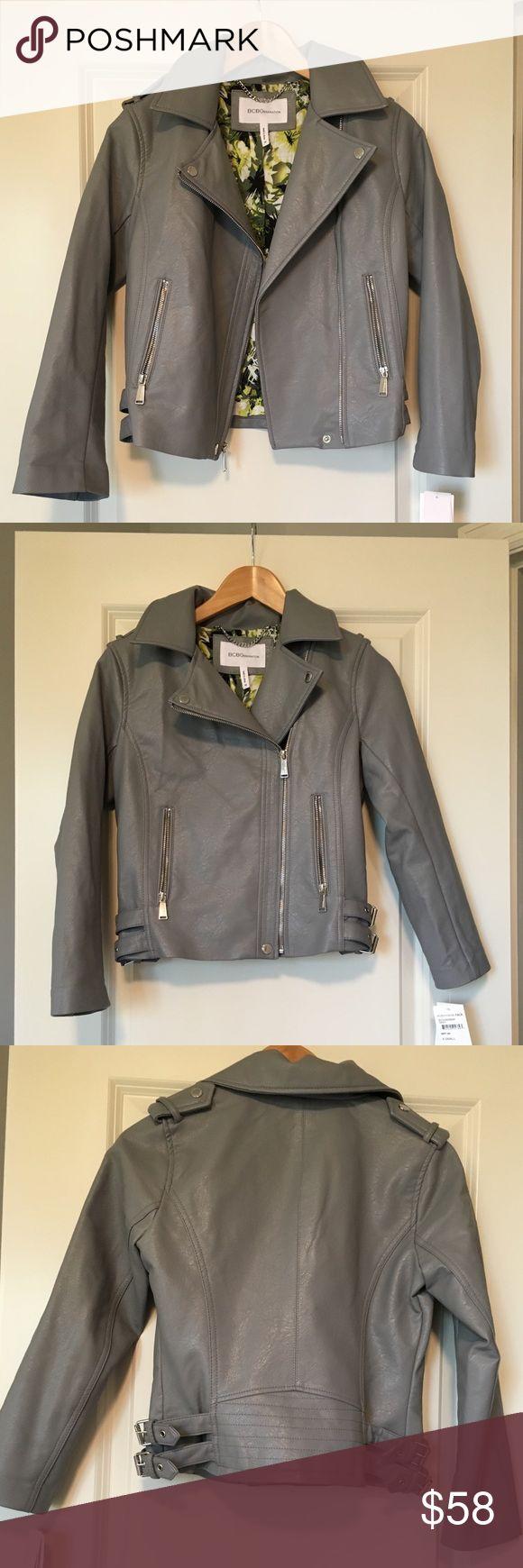 NWT BCBGeneration Pleather Jacket NWT BCBGeneration Pleather Jacket BCBGeneration Jackets & Coats