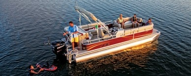 Lowe Pontoon Boats SS250XD Super Sport