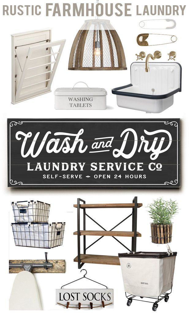 HOUSE + HOME BLOG   LETTERED AND LINED – Rustic Farmhouse Laundry Idea Ideas Sources, Sign, Art, Decor, Rack, Accessories, Bin, Basket, Shelving, Clothespin, Clothespins, Utility Sink, Laundry Service Co, Wash and Dry, Wash dry fold, Self-Serve, 24 hrs