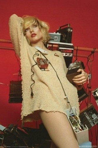 Blondie Debbie Harry Radio  Rare Vintage by VintagePosterPlace