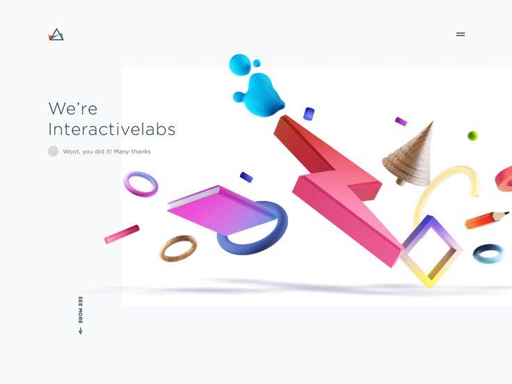 Donner vie à une interface par la couleur. Quelle belle idée. Et la rédaction joue son rôle à la perfection.