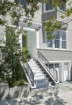 C2 Paint Al Green Feldman Architecture Modern Entry San Francisco