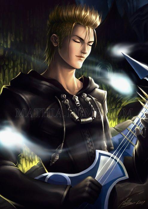Kingdom Hearts Demyx | demyx1 - ~ KINGDOM HEARTS ~ - fallenraziel - Photos - Club Ados.fr