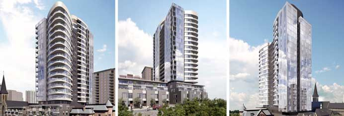 Rising 21 storeys, Cathedral Hill offers an exceptionally unique and balanced urban lifestyle. Situated on the western edge of downtown, close to Ottawa's most distinguished landmarks and desirable amenities, the tower encompasses 140 luxuriously appointed condominiums