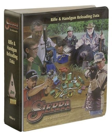 Books and Video 7304: New! Authentic Sierra 5Th Edition Rifle Handgun Reloading Manual Books Model 500 BUY IT NOW ONLY: $35.47