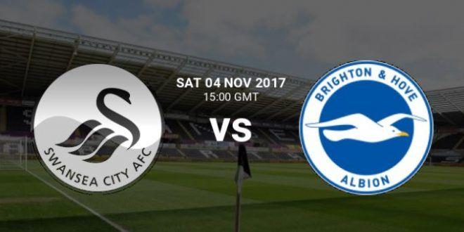Brighton & Hove Albion vs Swansea City