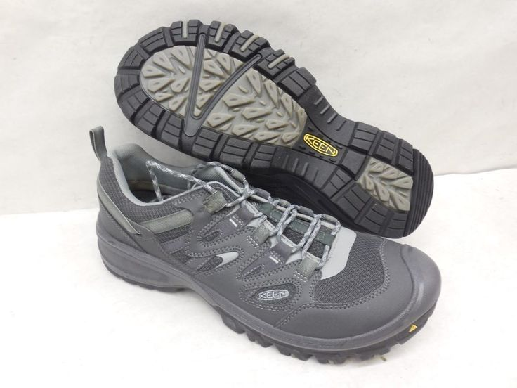 New KEEN 1014579 Gray Sandstone Gray Athletic Trail Hiking Running Shoes Size 14 #KEEN #HikingTrail
