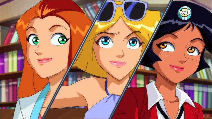 totally spies tf1