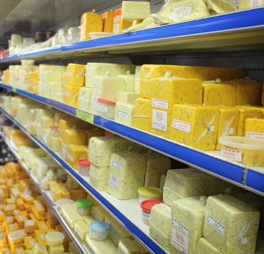 A Visit To Osceola Cheese