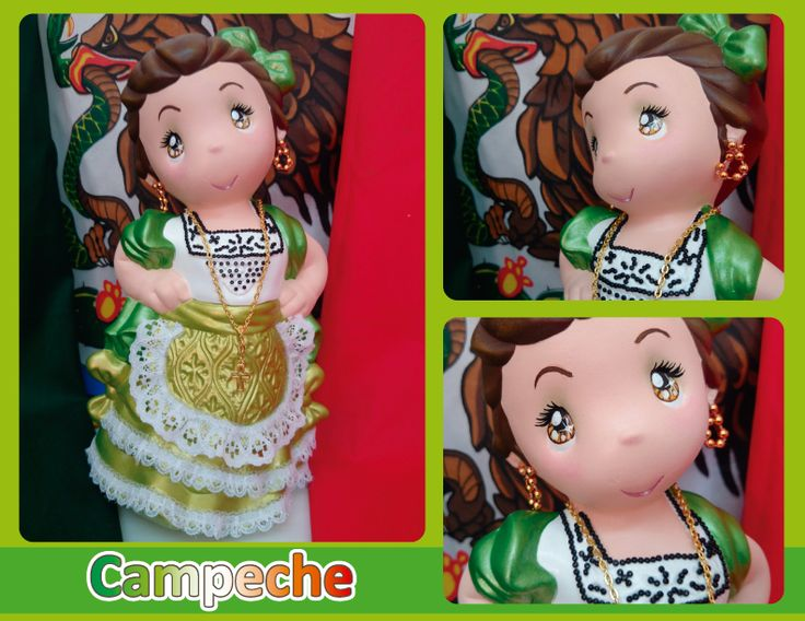 Traje típico de Campeche - Campeche regional costume