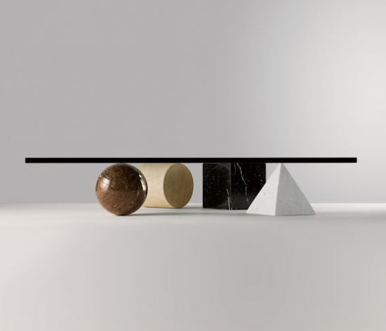 Coffee Table by Massimo Vignelli: