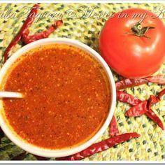 Mexico in my Kitchen: Taqueria Style Salsa Recipe / Receta de Salsa Taquera Authentic Mexican Food Recipes Traditional Blog