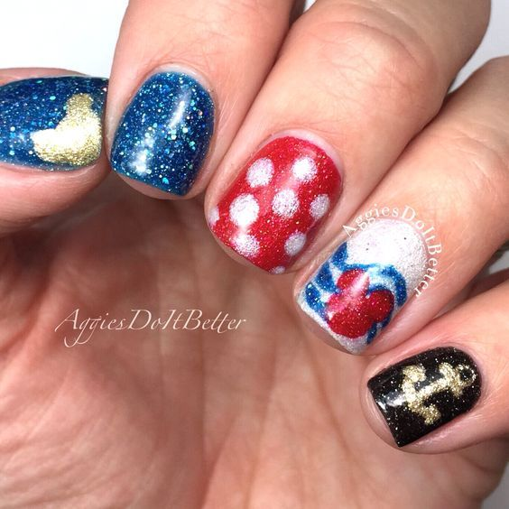 38 best Disney Nails! images on Pinterest | Disney nails ...