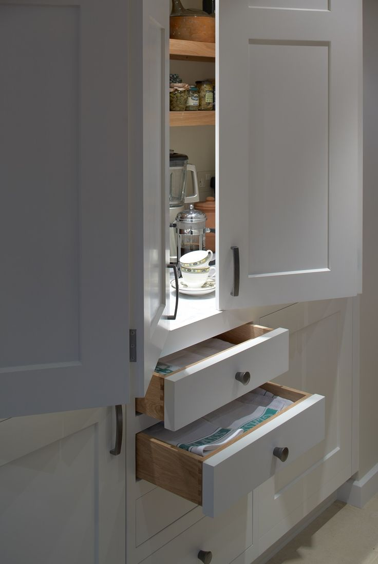 Pantry And Larder Bi Fold Doors Which Reveal Storage For