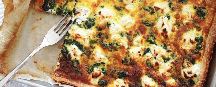 Qooking.ch | Délicieuse tarte aux épinards