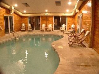Gatlinburg Chalet Rental: Gatlinburg Chalet With Private Indoor Heated Pool | HomeAway