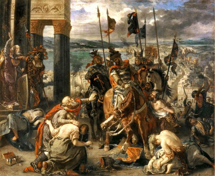 """Bizans Tarihi Serisi'nin üçüncü yazısı: """"IV.Haçlı Seferi ve Konstantinopolis'te Latin İşgali"""""""