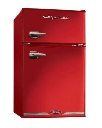 Nostalgia Electrics RRF325HNRED Retro Series 3.0-Cubic Foot Compact Refrigerator Freezer, Red Nostalgia Electrics http://www.amazon.com/dp/B0096NS9OQ/ref=cm_sw_r_pi_dp_S3RPwb11J6WRA