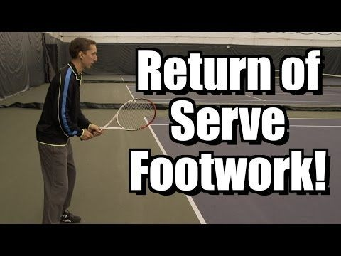 Return of Serve Footwork Lesson - Serve Return - Split Step Instruction