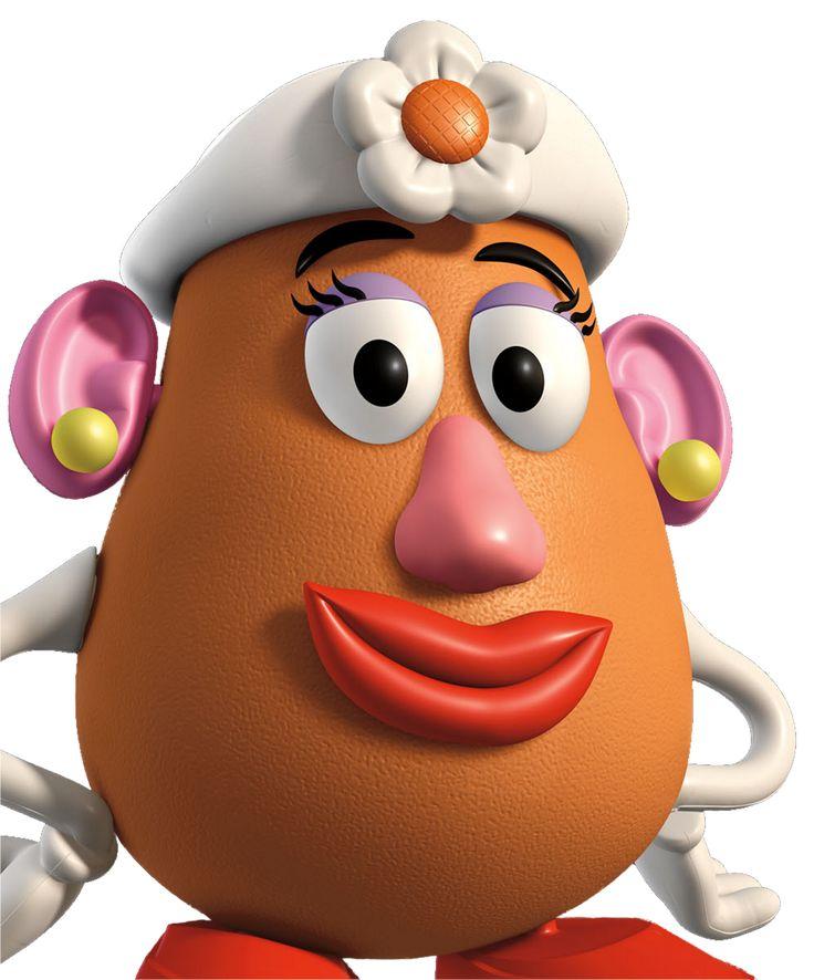 señora patata  Toy story para imprimir