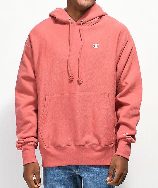 1b0d043018b9 Champion Reverse Weave Pink Hoodie in 2019