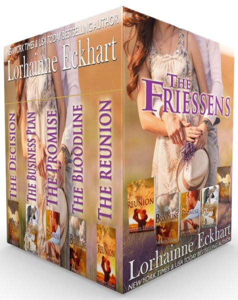 This special boxed set edition includes five contemporary romance books from the big family romance series fans have fallen in love with.
