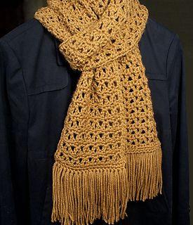Scarf crochet pattern by Susan Lowman