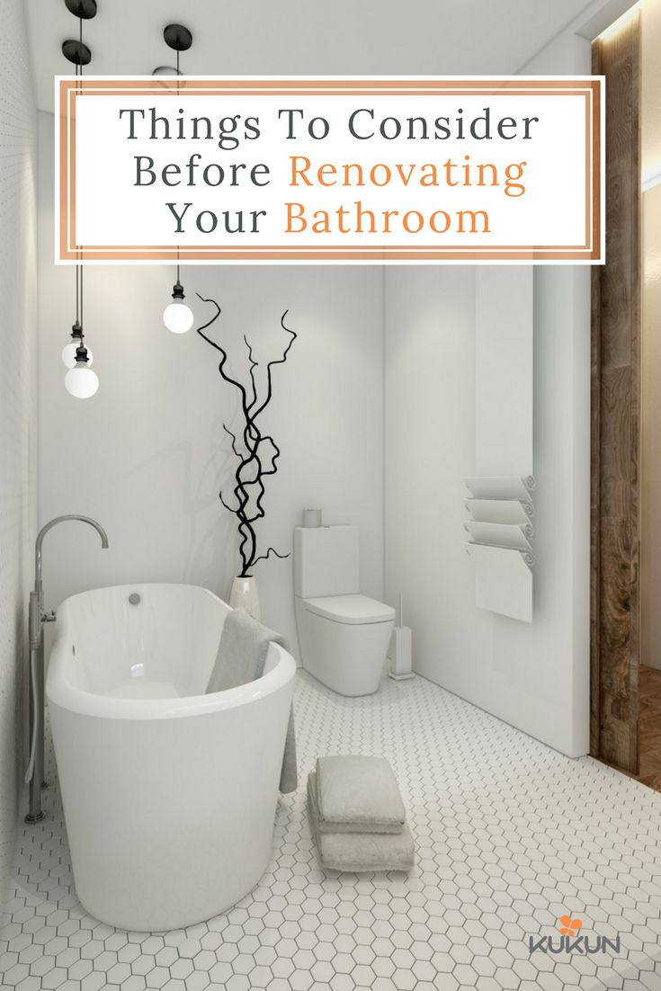 Bathrooms are one of the most frequently used spaces in homes and renovating it to be both functional and aesthetically pleasing is crucial, here's five factors to consider before beginning your bathroom renovation. [Nordic Bathroom Ideas, Nordic Bathroom Decor, Hexagon Tile Bathroom, Bathroom Remodel Ideas, Bathroom Design Ideas, White Bathroom Ideas, Scandinavian Style, Bathroom Remodel Tips]